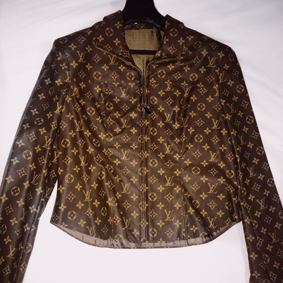 c21c538c0 Louis Vuitton Jackets & Coats | Vintage Custom Made Jacket | Poshmark